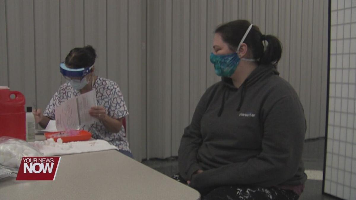 Allen County Public Health provides vaccine to more healthcare workers Saturday