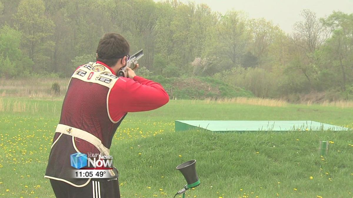 Young people compete in trap shooting at Moulton Gun Club.jpg