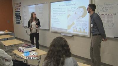 Elida high school students learn about drugs