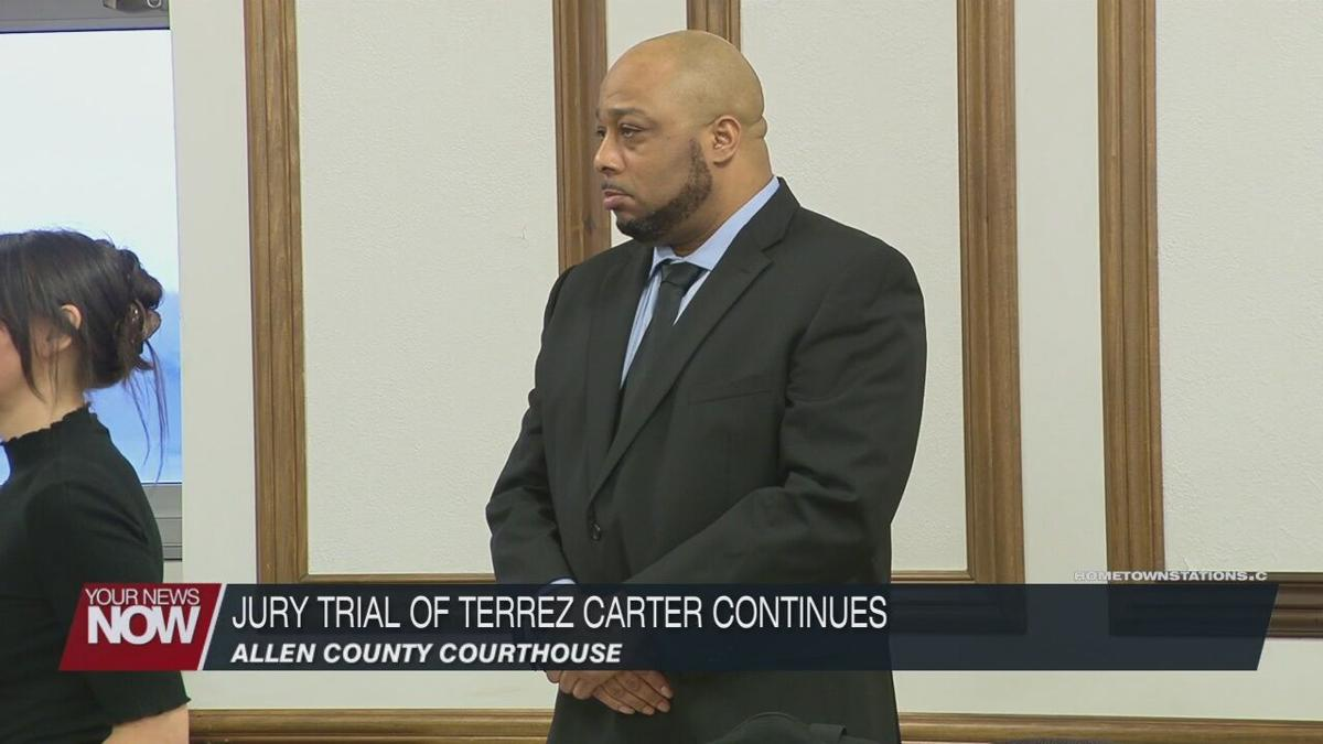 Day 2 of Jury Trial Of Terrez Carter focuses on 2015 case