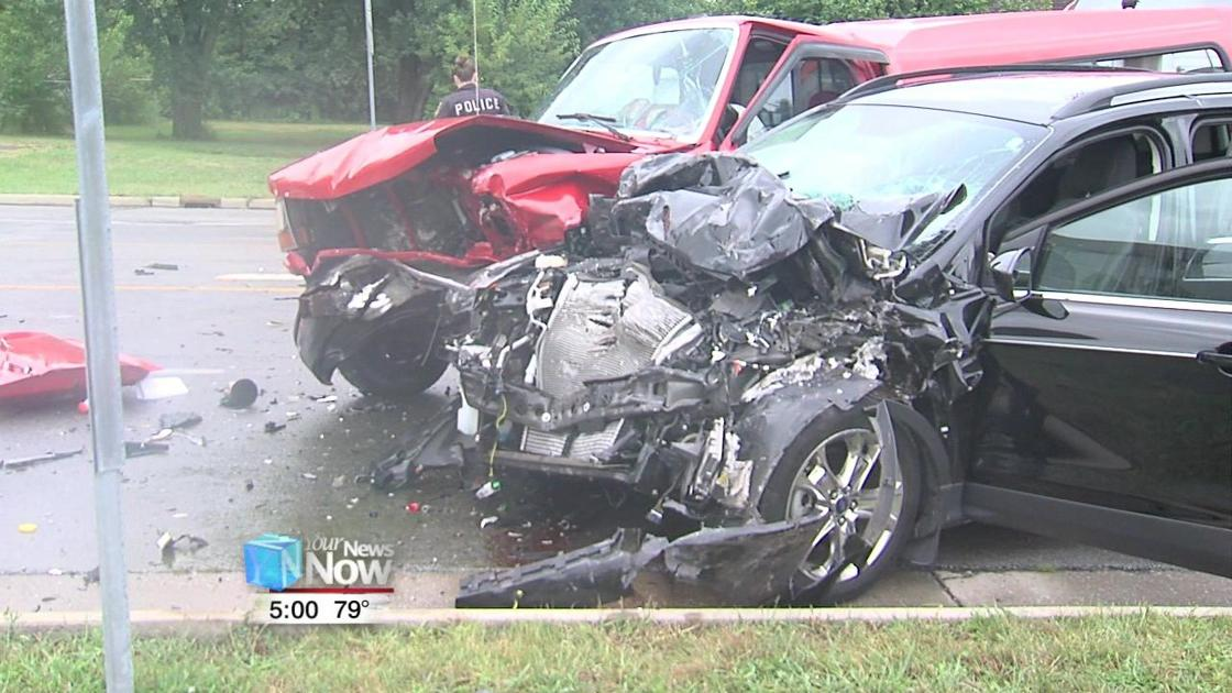 Allentown Road crash sends three people to the hospital