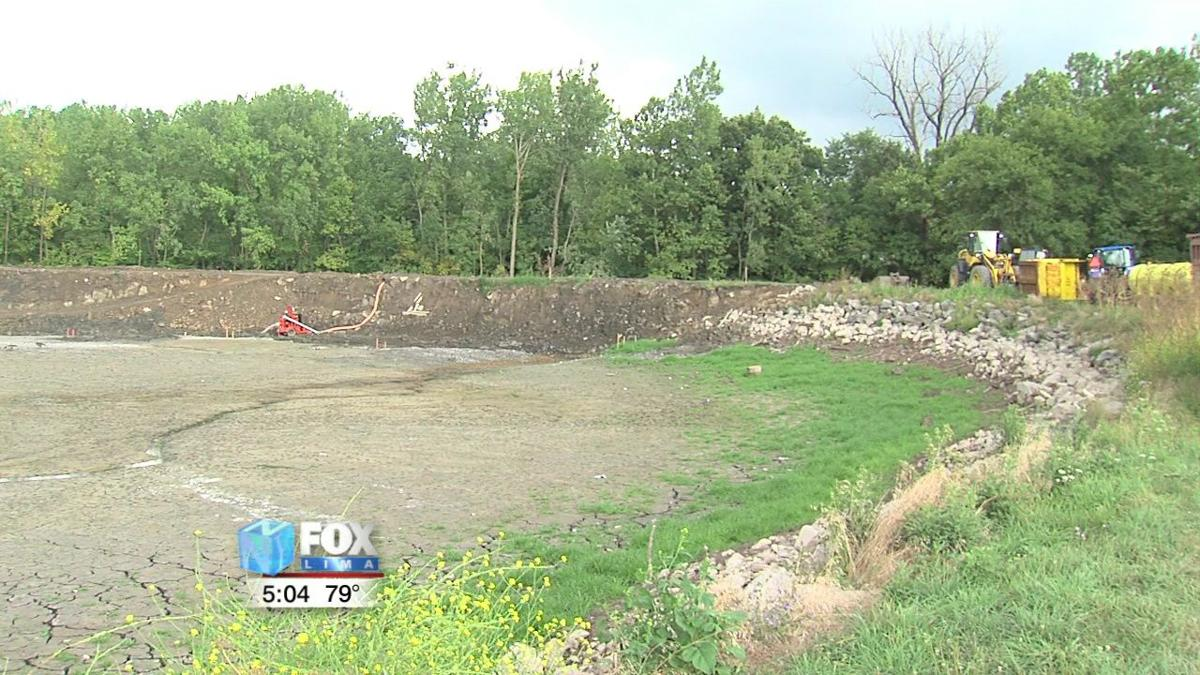 Schoonover Lake dam project starts slow, but still on track 1.jpg