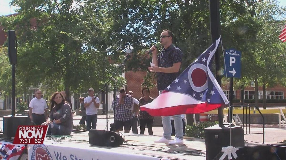 Rally for medical freedom held in downtown Lima Saturday