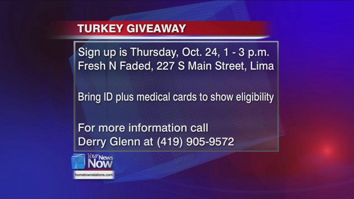 Free Turkey Giveaway 2019