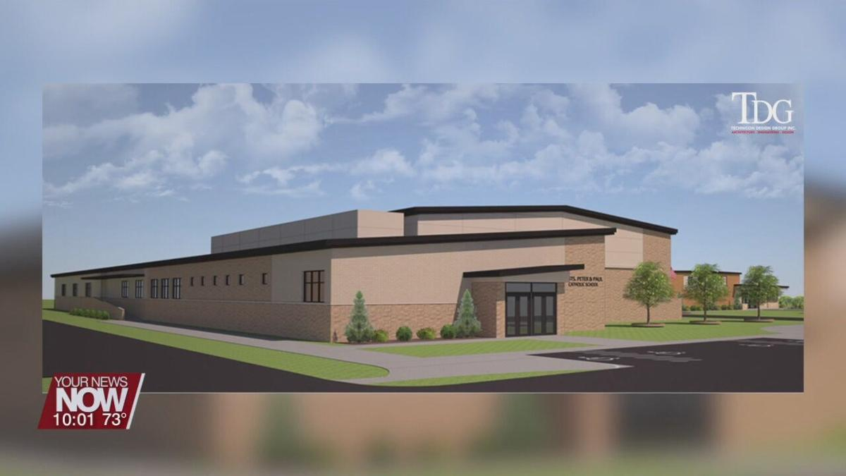 Sts. Peter & Paul Catholic School holds groundbreaking ceremony for new building