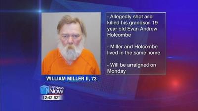 Oakwood man suspected of fatally shooting his grandson