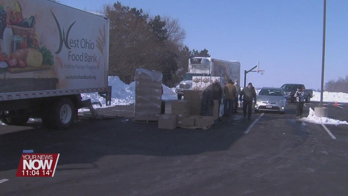 Pandora gets first ever distribution from the West Ohio Food Bank