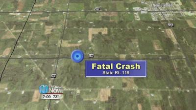 A Mercer County woman was killed in two vehicle crash Friday night