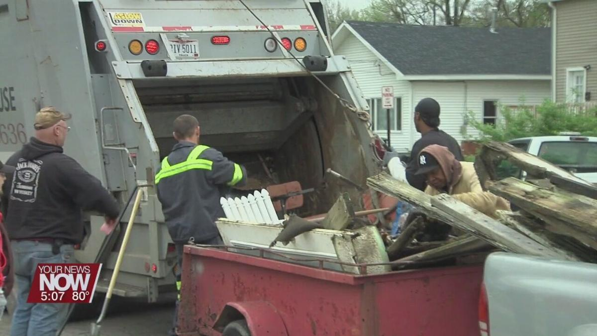 Final day for City Wide Pride dumpster sites