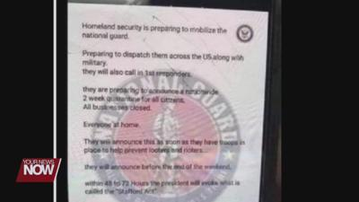 Don't be fooled by fake National Guard letter circulating social media