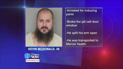 Man arrested for Inducing Panic injures himself at the Mercer County Jail 1.jpg