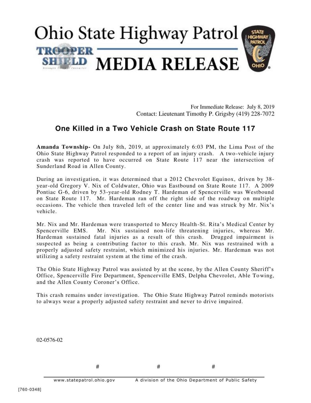 OHP  Media Release 25762 update.pdf