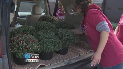 Friends of the Symphony selling Mums for Fall.jpg