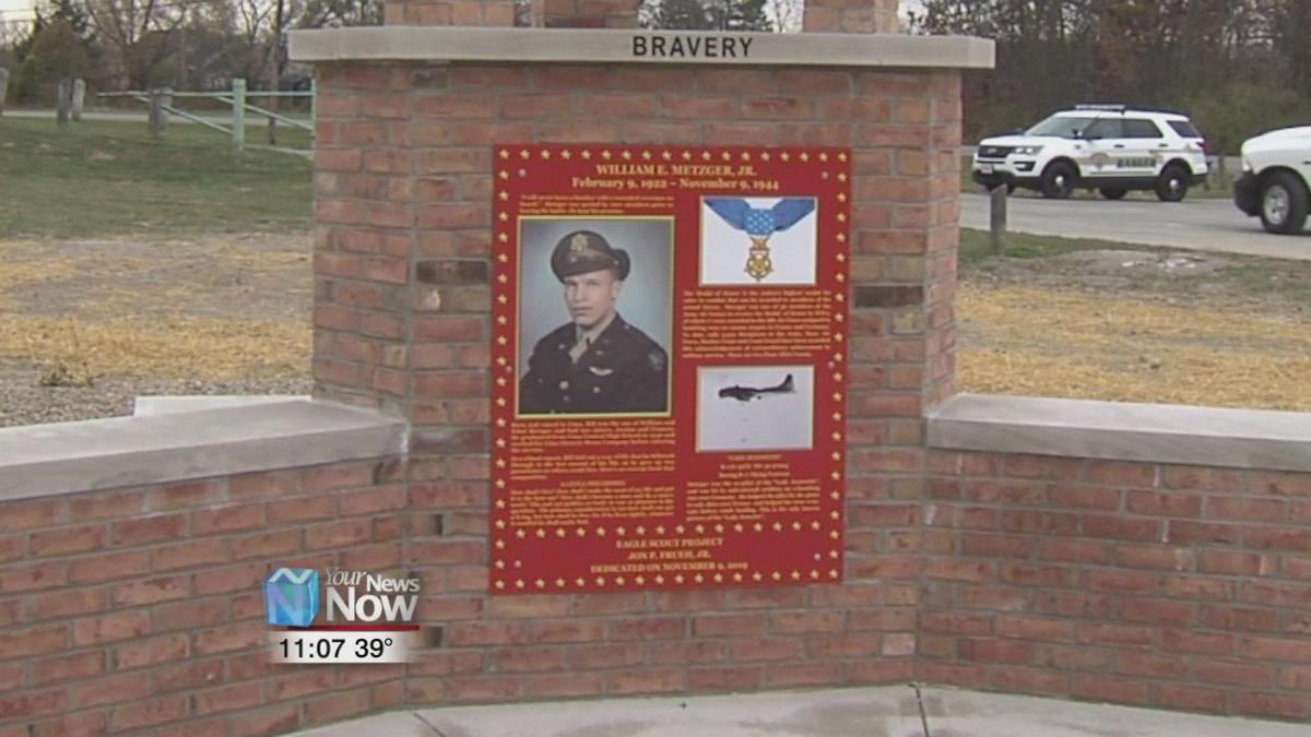 Eagles scout project recreates memorial for Medal of Honor recipient