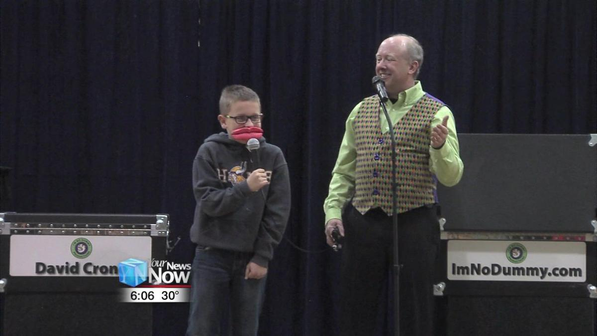 Ventriloquist pulls strings with local students 2.jpg
