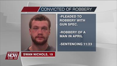 Nichols pleads to robbing a man under the guise of taking him to a party