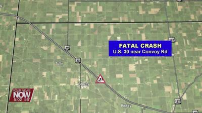 A Convoy man killed after driving wrong way on U.S. 30 and hitting another car