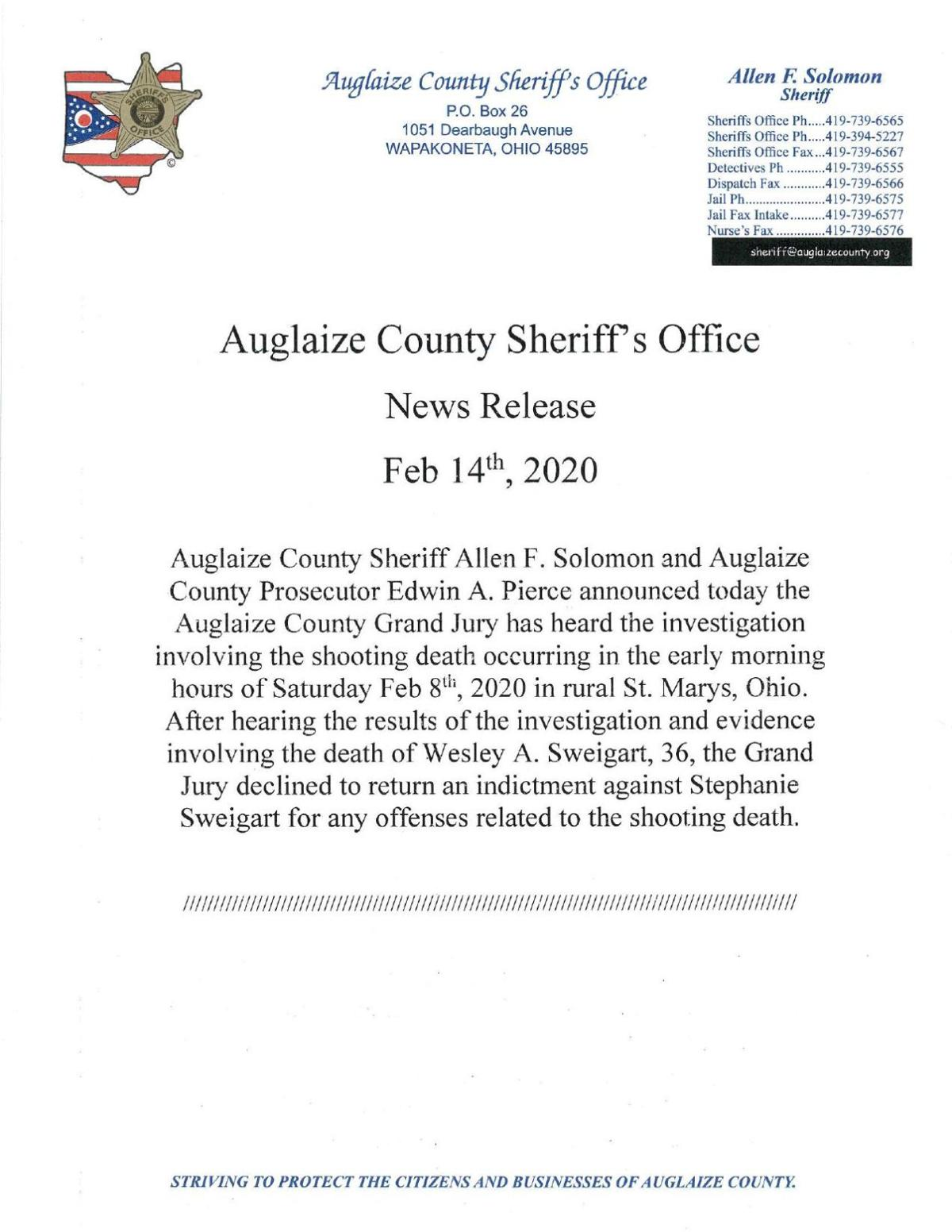 Sweigart News Release No Charges.pdf