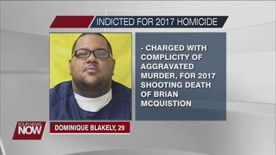 A man currently in prison gets charged with a 2017 Findlay homicide
