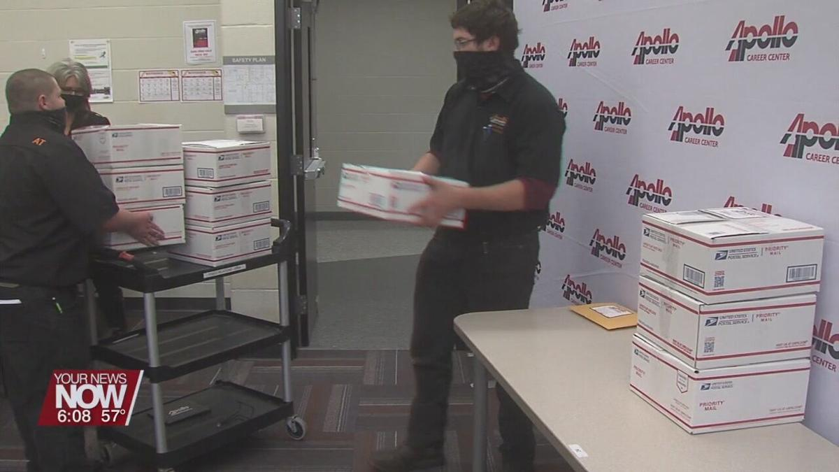 Apollo sends care packages to alumni soldiers