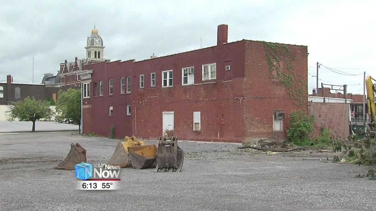 RTA begins demolition of vacant downtown buildings for parking lot project 1.jpg
