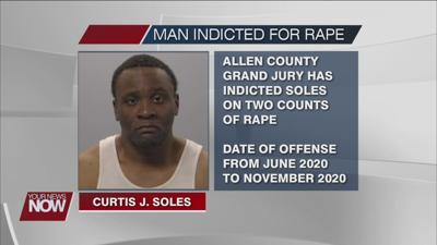 Curtis Soles indicted on rape charges involving a minor