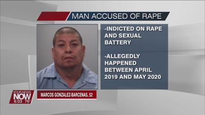 Marcos Gonzalez-Barcenas indicted for alleged 2019 rape
