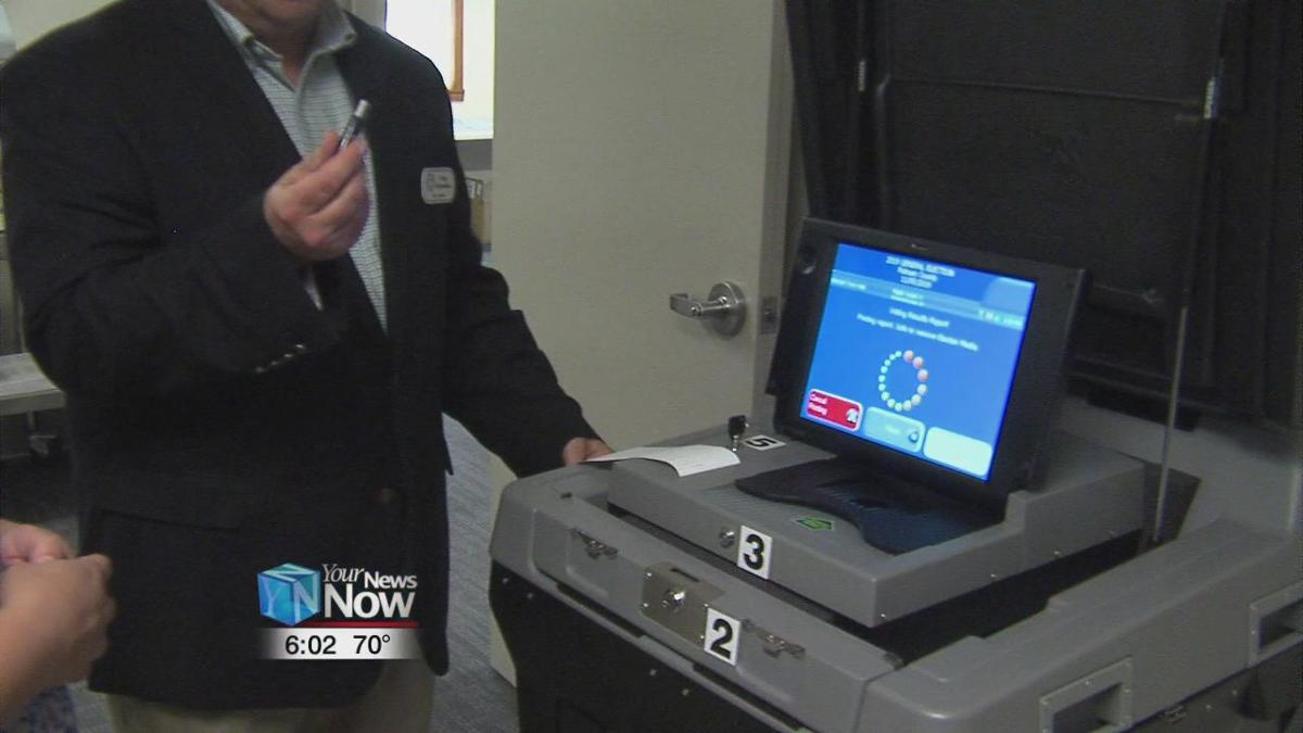 Putnam County Board of Elections test out new voting equipment
