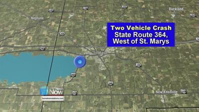 Two-vehicle crash seriously injures St. Marys teen
