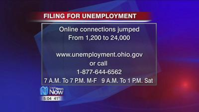 Ohio opening up more connections to help with filing for unemployment