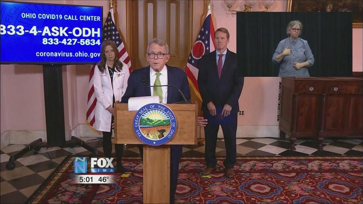 DeWine orders more closures while Ohio sees first COVID-19 related death