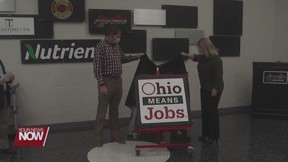 Ohio Means Jobs honored at Apollo Career Center