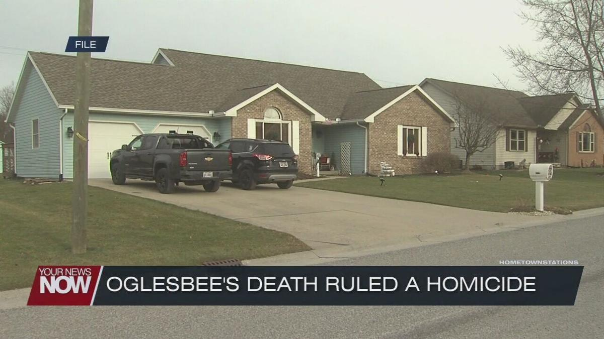 Allen County Sheriff's Office says Oglesbee's death ruled homicide