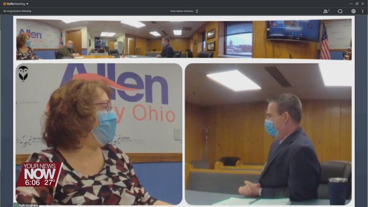 """Allen County Commissioners looking to continue the """"team"""" effort as 2021 unfolds"""