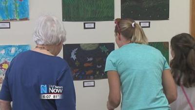 Children's Art Show showcases children's hard work
