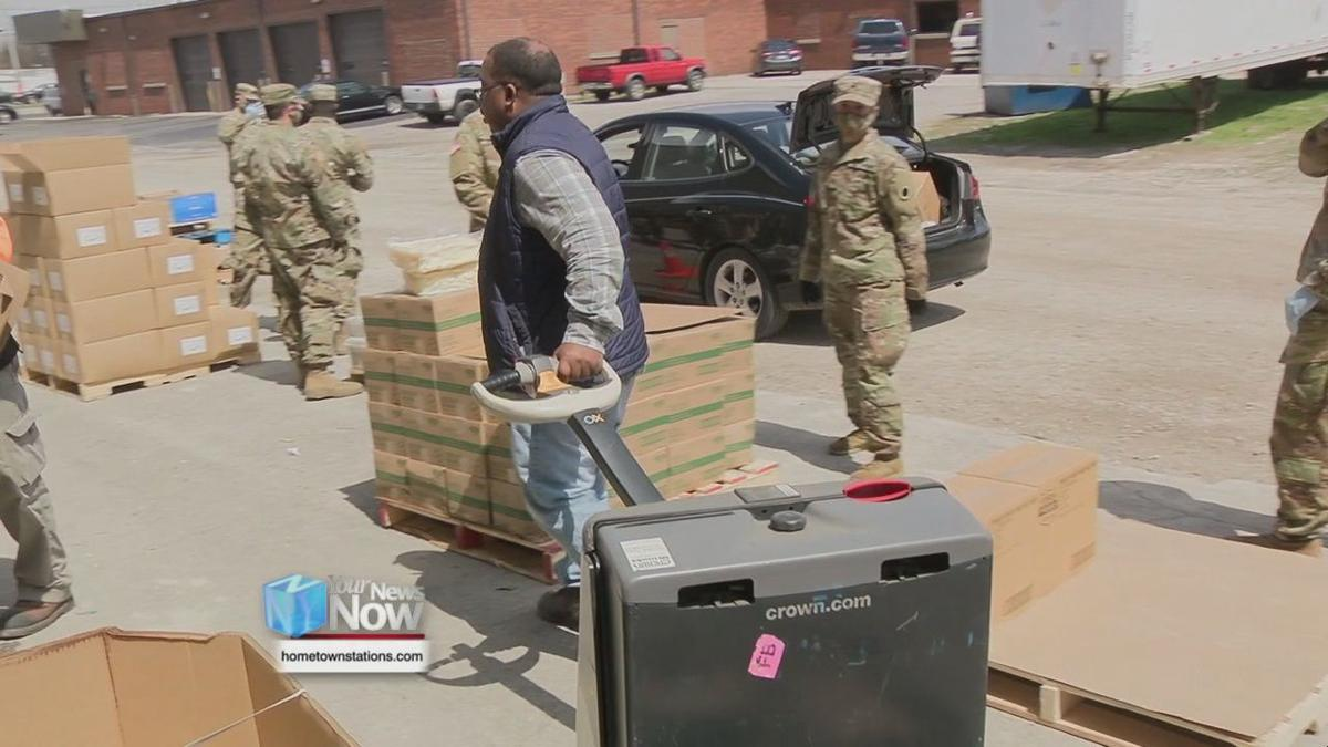 West Ohio Food Bank sees outpouring of support as they help get food out to those in need
