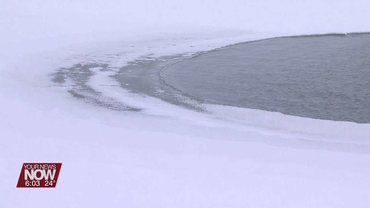 Ice danger at Grand Lake St. Marys