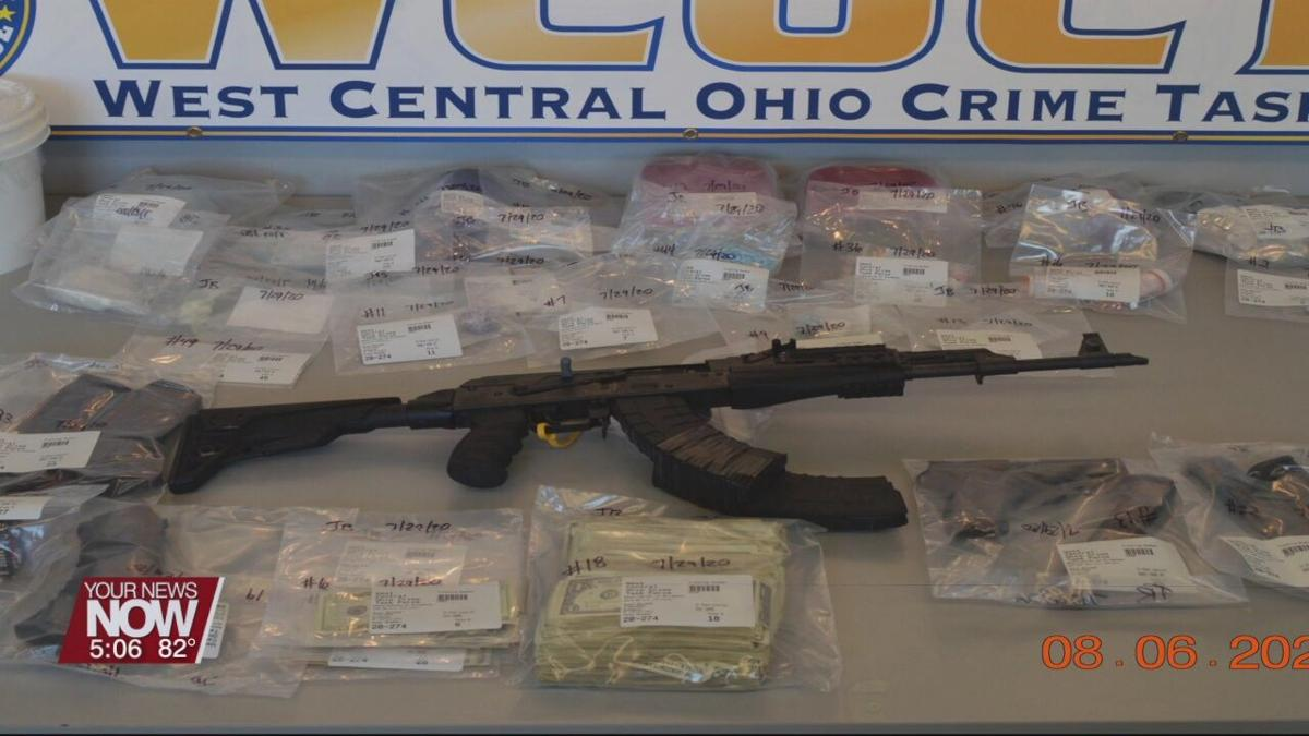 More drugs seized by West Ohio Crime Task Force during search warrants