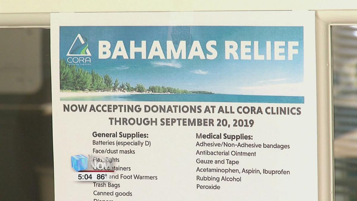 CORA Heath Services collecting items for the Bahamas 1.jpg