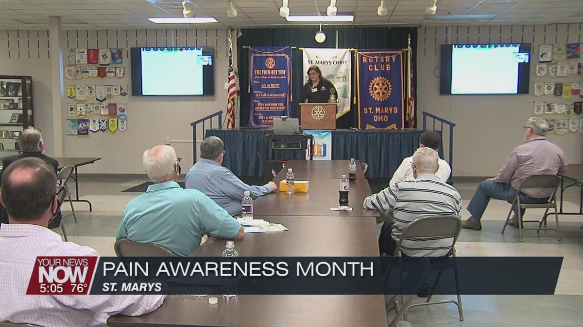 St. Marys Rotary talks with pain management clinic