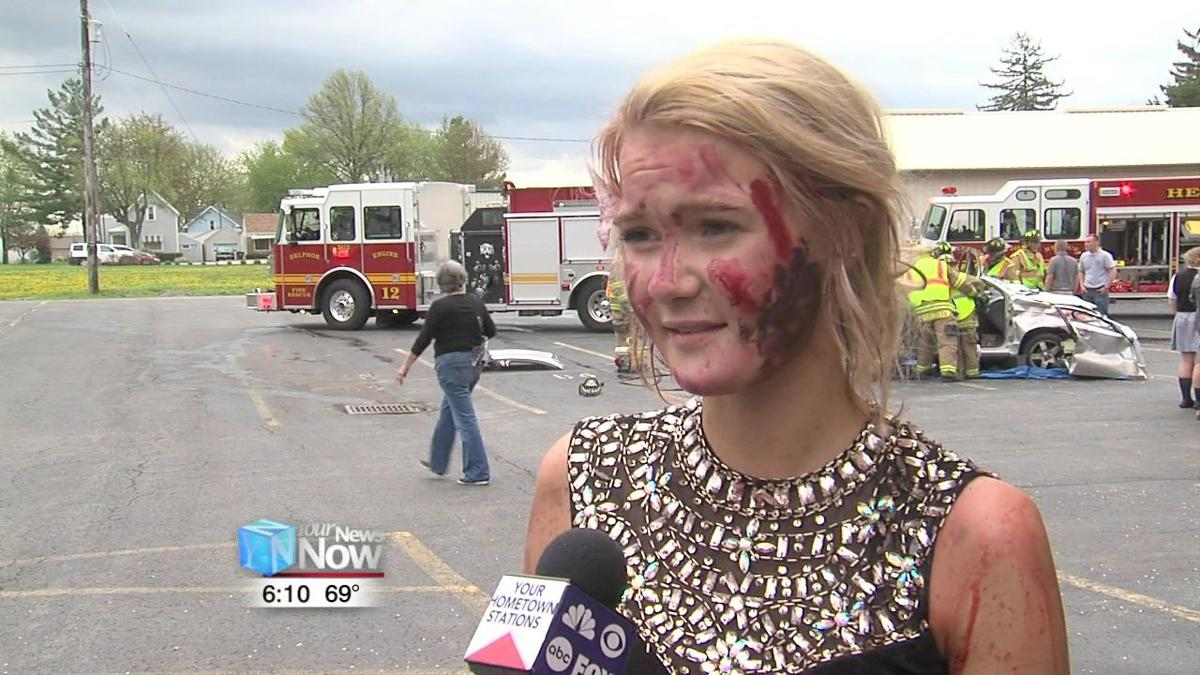 Mock crash shows St. John's students the dangers of distracted driving 2.jpg
