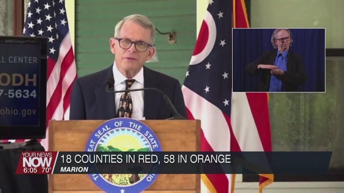 DeWine talks about rising COVID-19 cases in Ohio
