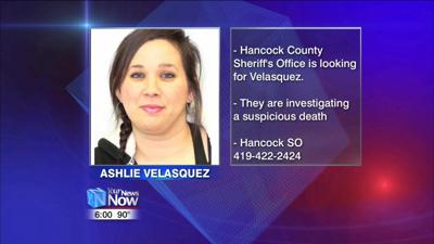 Hancock County Sheriff's Office looking for a woman possibly connected to a suspicious death 1.jpg