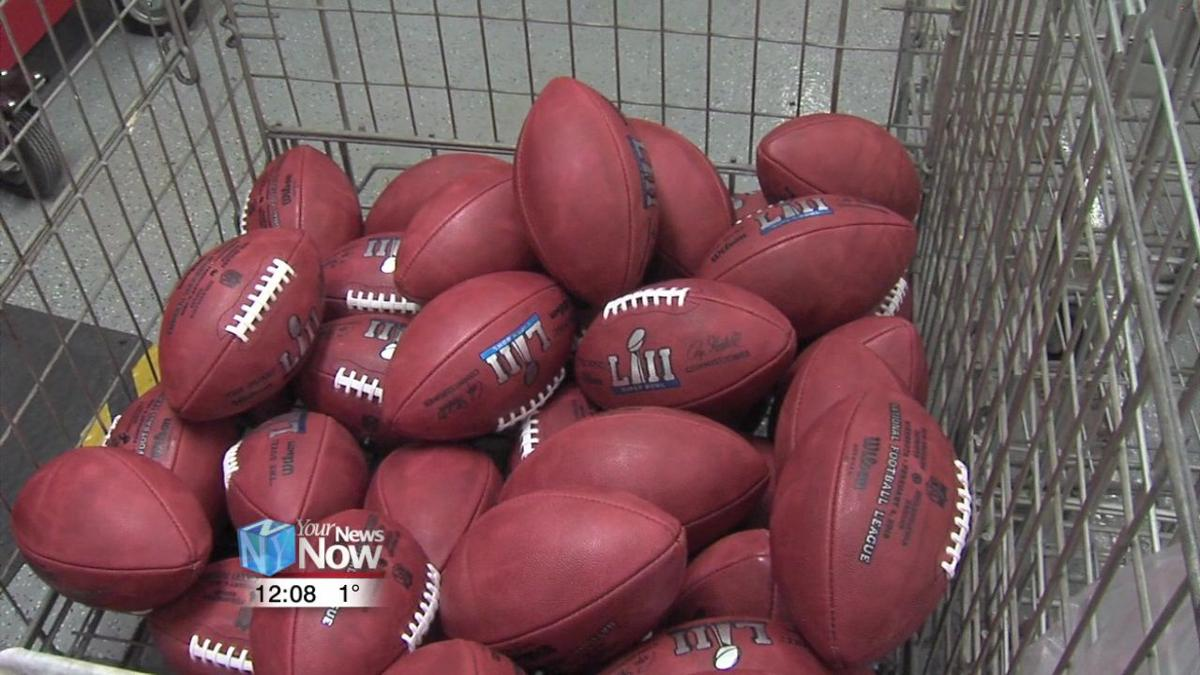 Wilson Football Factory in Ada begins production on Super Bowl footballs 1.jpg
