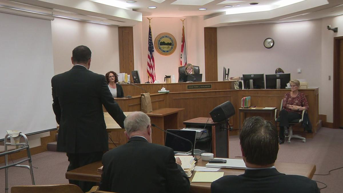 Avery Ward stands trial for alleged rape of a 9-year-old boy