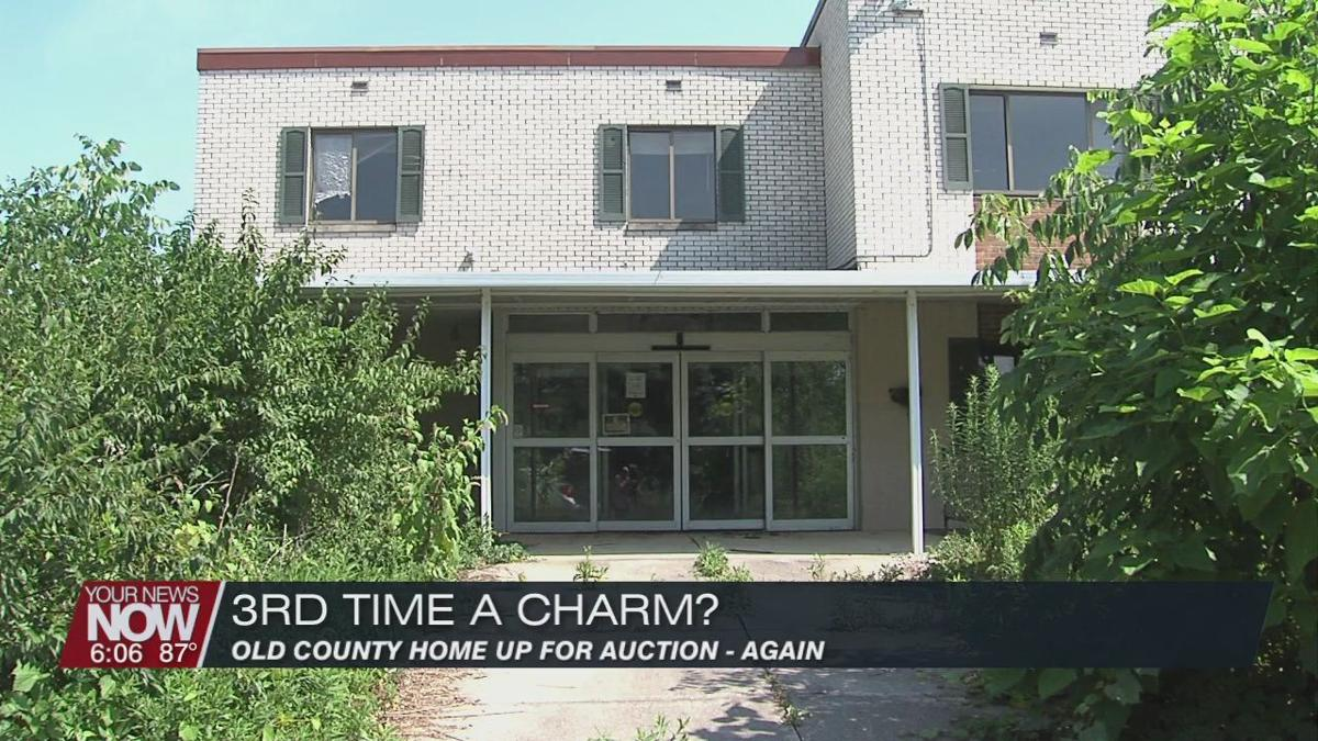 Allen County Commissioners hoping 3rd time is the charm in auctioning the old county home