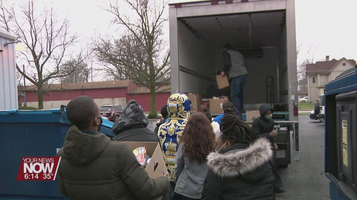 Heir Force excels past their goal of donations to the West Ohio Food Bank