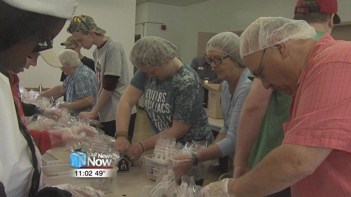 Cridersville church packages over 13,000 meals for Rise Against Hunger2.jpg