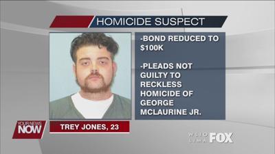 Homicide suspect has bond reduced