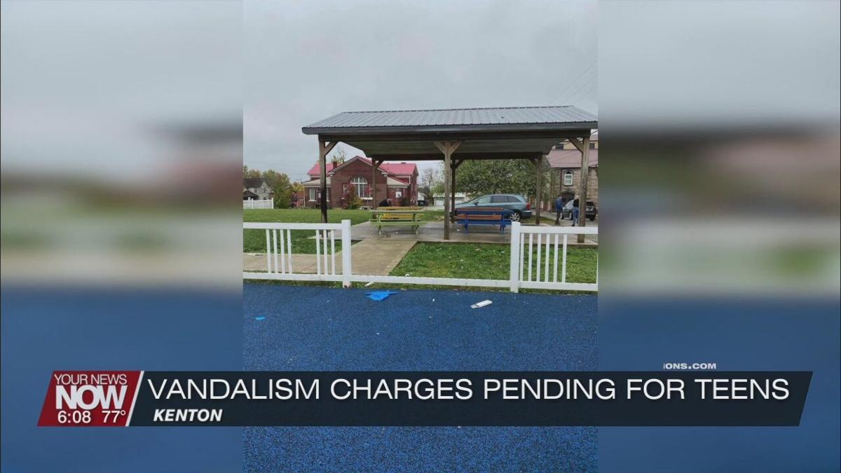 Charges pending against 3 teens suspected of vandalizing Jerry Cross Park